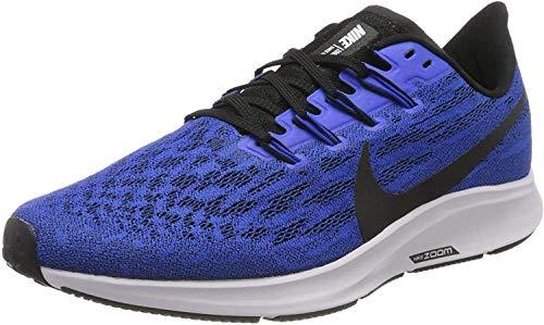 Nike Air Zoom Pegasus 36, Zapatillas de Correr Hombre, Azul (Racer Blue Black White 400), 42 EU