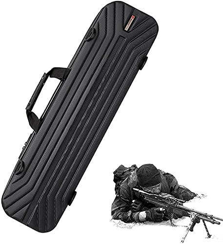 XIAOER Borsa da Pistola Tattica Spalle, Sacchetto di Pistola Ad Airsoft AntiGraffio, Materiale ABS, Collezione di Pistole, Pesca, 130 Cm, 130 Cm (Size : 90CM)