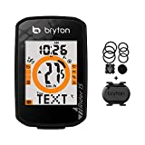 Bryton Rider 15 GPS Cycle Computer(15C - with Cadence Sensor). Your First GPS Bike Computer, Ease of use, no Complicated Setup. Compatible to BLE sensors, 30 Features Supported.