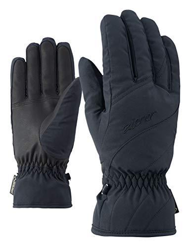 Ziener Damen KIMAL GTX lady glove Ski-handschuhe/Wintersport | Wasserdicht, Atmungsaktiv, black, 7,5