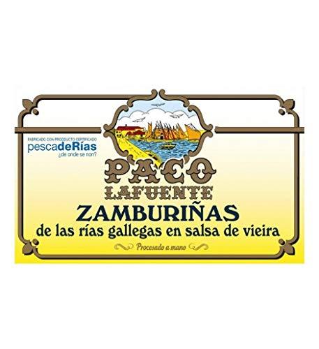 Zamburiñas en Salsa de Vieira de las Rias Gallegas - Paco Lafuente...