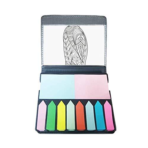 Grootste Vogel Verf Koude Zelf Stick Opmerking Kleur Pagina Marker Doos