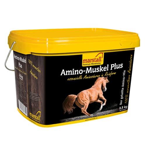 marstall Premium-Pferdefutter Amino-Muskel Plus, 1er Pack (1 x 3.5 kilograms)