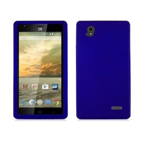 FastSun Hard Snap on Protector Case Phone Cover Accessory for ZTE Warp Elite N9518 (Blue)