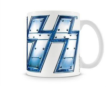 Offizielles Lizenzprodukt KISS Metal Logo Kaffeetasse, Kaffeebecher
