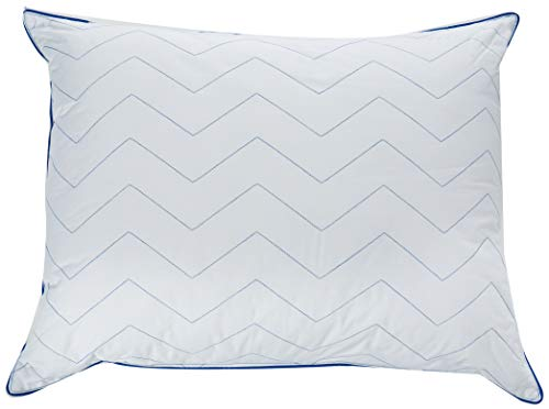 Spring Air Zigzag F3 Blanco STD Media Firme Almohada Zigzag F3 Blanco STD