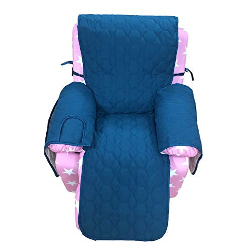 Kids Recliner Chair Cover Only - RBSC Home Anti Slip Waterproof 14 Inch Cover for Kid's Recliner, Kid's Sofa, Kid's Chair
