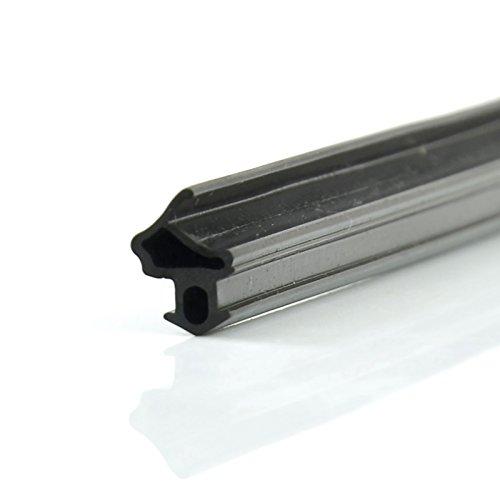 Fensterdichtung S-1172 1-100m EPDM Schwarz Wärme-,Schalldämmung TOP Gummi-,Tür-