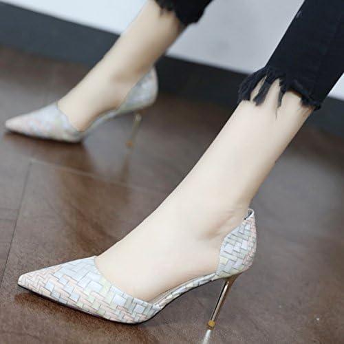 Xue Qiqi butt-d'airbag latéraux avec des chaussures à haut talon avec des chaussures fines et élégantes conseils filles ensembles polyvalent Chaussures pieds