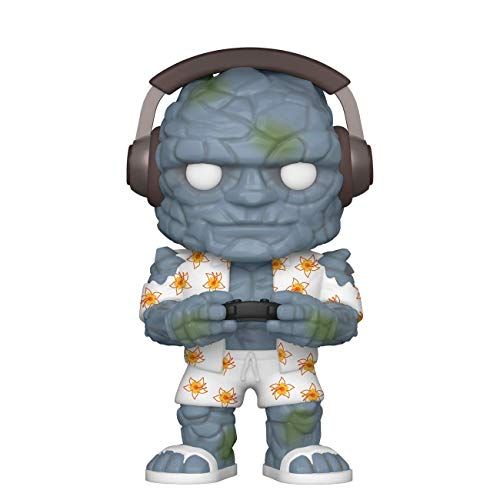 Funko- Pop Marvel: Endgame-Gamer Korg Collectible Toy, Multicolor (45140)