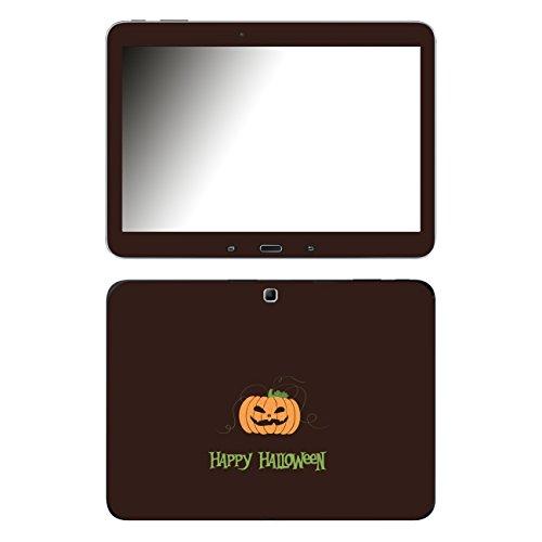 'Disagu 105859SF-650P SF 1219Design Case Cover Protector for Samsung Galaxy Tab 4–10.1inch Full HD IPS Display Tablet–Halloween Pumpkin 01Clear