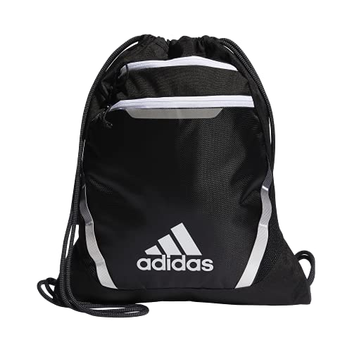 adidas Mochila unisex Rumble Iii, Unisex, Bolsa, 977631, negro/blanco, Talla única