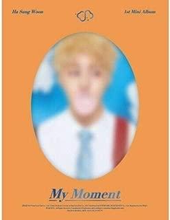 Wanna One Ha Sung Woon - [My Moment] 1st Mini Dream CD+PhotoBook+1p Card+1p Bookmark+Tracking K-POP Sealed