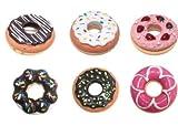 Lote de 24 Bálsamo Labial DONUT. Original y divertido bálsamo labial con forma de donut para boda, bautizos, comuniones, cumpleaños, eventos, fiestas, colegios, niñas