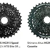 HG31-8 Speed Cassette Shimano Mountain Bike Bicycle Cassette 12-30T 32T 34T