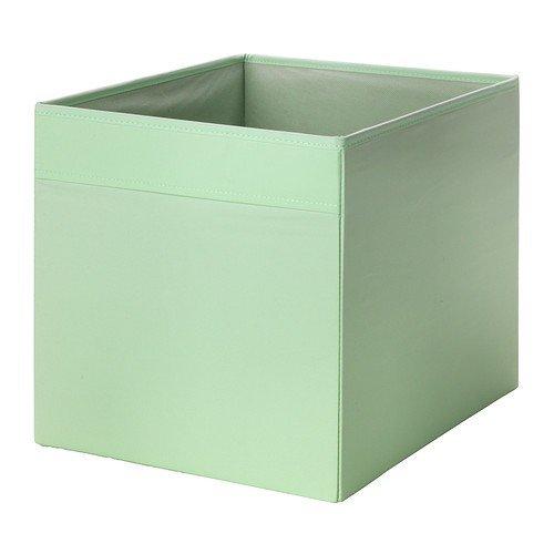"""IKEA Regalfach \""""DRÖNA\"""" Aufbewahrungsbox Regaleinsatz in 33x38x33 cm (BxTxH) - HELLGRÜN / MINT - passend für Expedit, Besta, etc."""