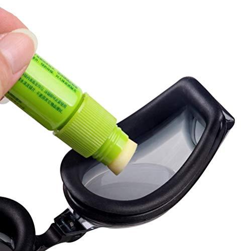 WSTERAO Antivaho para Gafas Spray antivaho Gafas antivaho, Desempañador portátil Agente antivaho de Estado sólido Limpiador antiempañante para Lentes de Cristal, Gafas de natación
