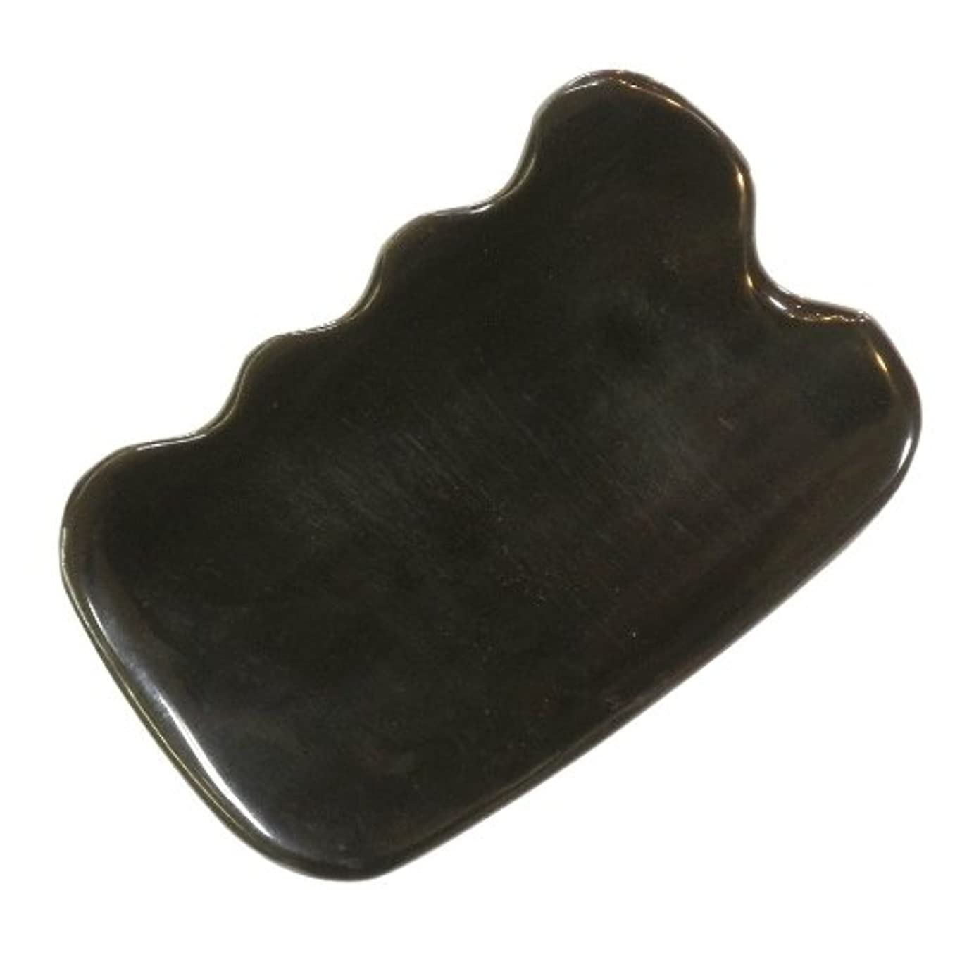 私たちのものミット便利さかっさ プレート 厚さが選べる ヤクの角(水牛の角) EHE272SP 四角波大 特級品 標準(6ミリ程度)
