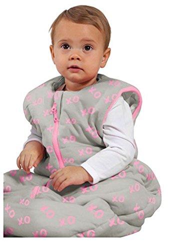 Baby Studio My First réversible Sac de couchage (18 mois et plus, kiss-n-hugs, rose)