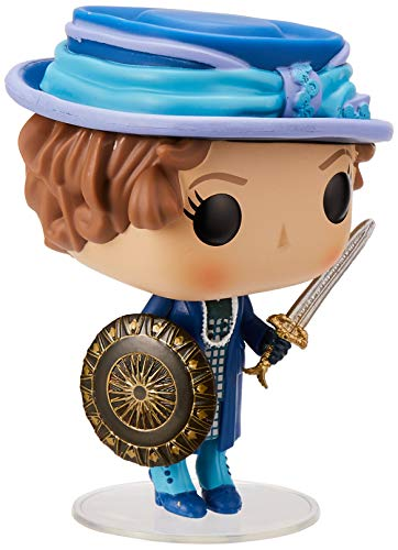 Funko Pop!- 24972 Wonder Woman ETTA Sword & Shield Figura de Vinilo, Multicolor
