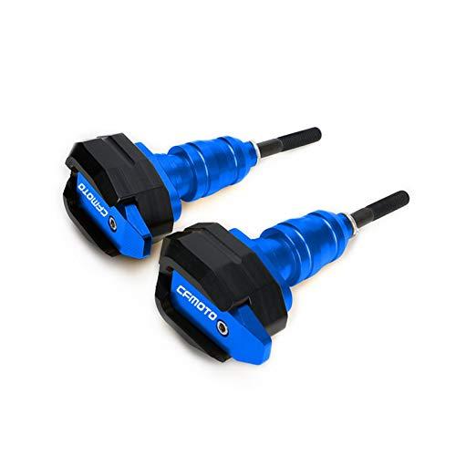 para CFMOTO 250NK 150NK 250 NK 150 NK Deslizadores De Marco Almohadillas De Choque Protector De Motor Protección contra Caídas Accesorios De Motocicleta (Color : Blue)