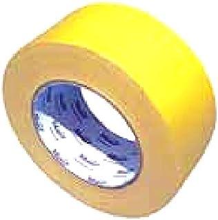 点字パネル専用テープ(黄色)を1巻。幅50mm×25m(点字カバー・点字タイル・点字ブロック・視覚障害者誘導表示)AR-1014(アラオ)
