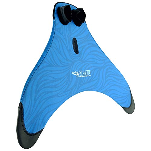 Fin Fun Advanced Monofin Pro AMP Swim Fin for Youth and Adult Mermaids