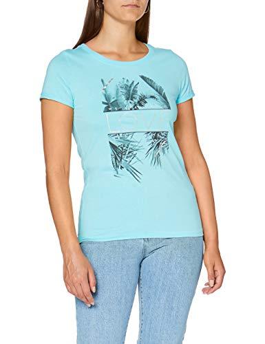 Q/S designed by - s.Oliver T-Shirt T-Shirt, Damen, Blau L