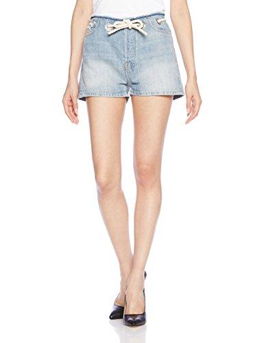 Diesel Damen Shorts DE-Edith, Blau (900 Denim 0LANX), W30