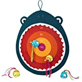 B. toys – Hungry Toss Shark Toys - Kids Dart Board...