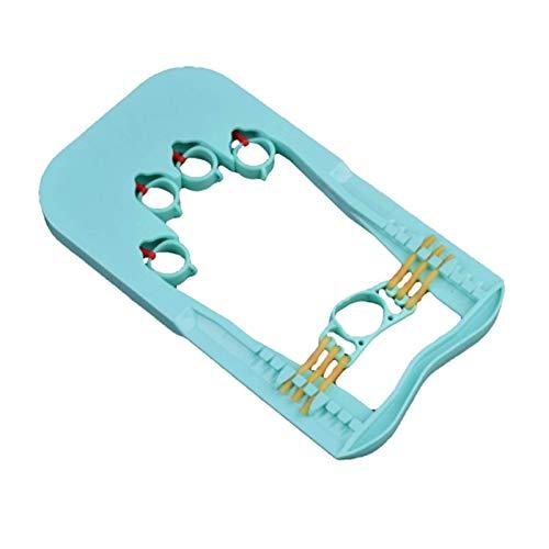YLJYJ Dispositivo de Entrenamiento de la Fuerza de los Dedos, Dispositivo de Entrenamiento de la Mano de Resistencia Ajustable, Entrenamiento de la Fuerza de los Dedos cómodo y práctico
