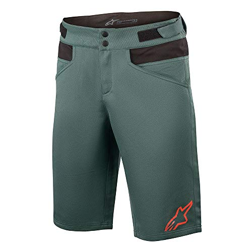 AS 1726220 Apline Stars Drop 4.0 Shorts MTB Herren Mountainbike Downhill Trail, Herren, Meerblau (Atlantic), 30 Inch / 76cm Waist