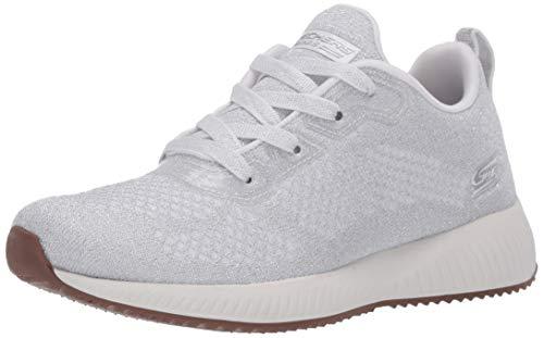Skechers Bobs Squad-Glitz Maker Sneaker für Damen, Weiá (weiß), 36 EU