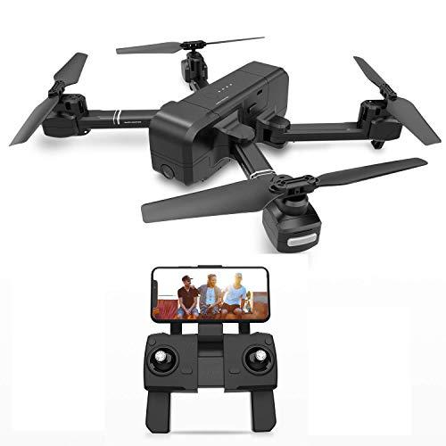 YAYY RC Drohne,Drohne mit Kamera,Mini Drohne für Kinder und Anfänger, RC Drone Quadrocopter mit Höhe-halten, Kopflos-Modus, EIN-Tasten-Rückkehr, Best Spielzeug Drone für Kinder, Black