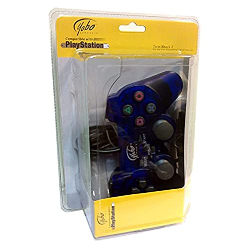 Yobo PS2 Wired Controller-Blue