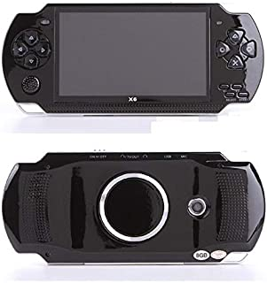 Newest 4.3 Inch Screen Handheld Game for PSP Game Camera Video E-Book Mp4 Player MP5 Console Game Player Real 8GB Support