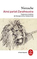 Ainsi Parlait Zarathoustra: UN Livre Pour Tous ET Pour Personne