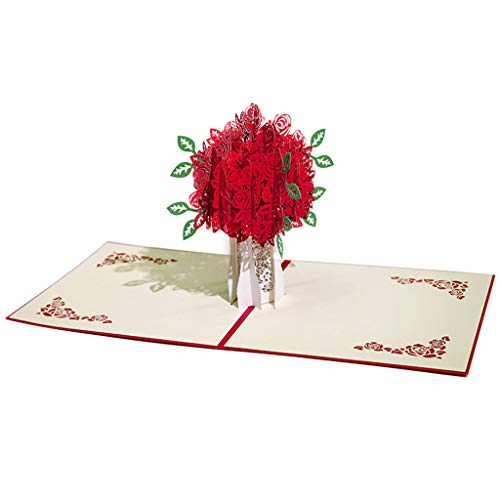 3D Cards pop up Three-Dimensional Paper Carving Handmade Mother s Day Card Gift Birthday Anniversary Greeting Cards