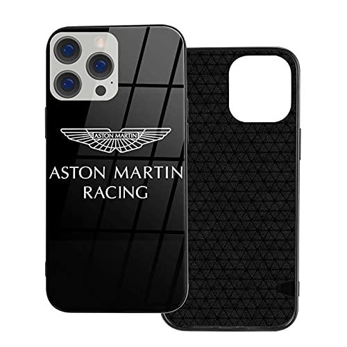 Compatible con iPhone Samsung Xiaomi Redmi Note 10 Pro/Note 9/8/9A/Poco M3 Pro/Poco X3 Pro Funda Aston Martin Vidrio Templado Cajas del Teléfono Cover