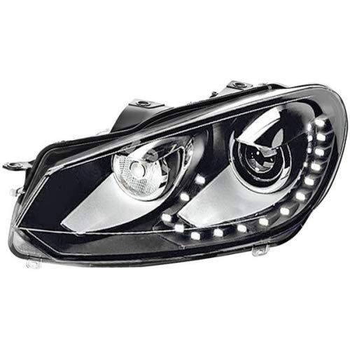 HELLA 1ZS 009 902-771 Hauptscheinwerfer - Bi-Xenon/LED - D1S/PY21W/W5W - 12V - links