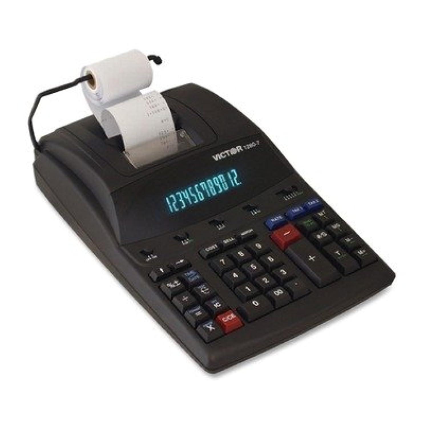 ベアリングサークルペンダント免疫する12桁電卓、2-print/表示、8?–?1?/ 2?x12?Quot ;?–?1?/ 4?quot ; x3?Quot ;、ホワイト