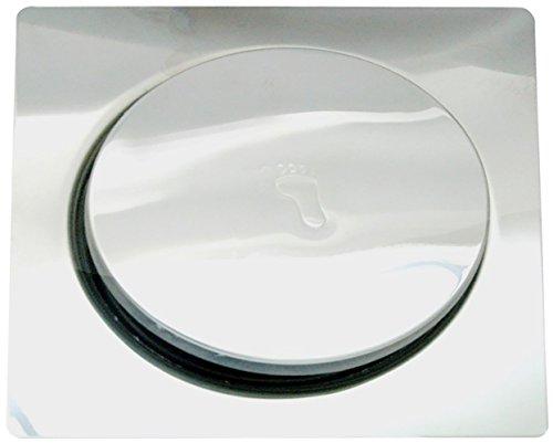 Pesca R/N Stainless Steel 304 Popup Floor Drain (Silver) (Series: Super Heavy)