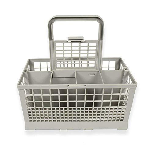 ZONJIE Panier à couverts universel pour lave-vaisselle (9,43 * 5,50 * 4,72 pouces) Compatible avec Kenmore, Whirlpool, Bosch, Maytag, KitchenAid, Samsung, GE, etc.