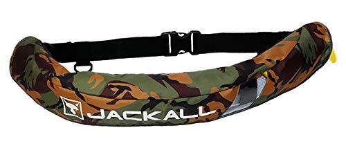JACKALL(ジャッカル) 自動膨張式 ライフジャケット グリーンカモ/ブラック JK5520RS グリーンカモ/ブラック 70-100cm