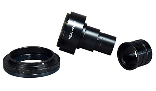 OMAX Microscope Adapter 4 Canon D-SLR w 2X Lens + 23.2-30.5mm Adapter