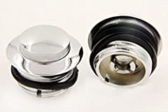 High Quality Aluminum Pop-Up Gas Cap and Oil Caps Comes with o-rings to prevent leaks Instructions: No installation guide Condition: Brand New, Never Used Color: the same like pictures show,Material: Billet Aluminum ,,,,,