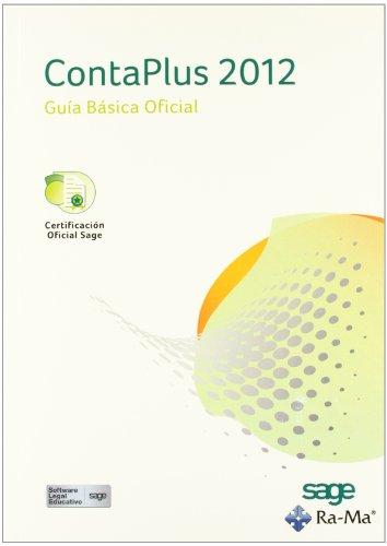 ContaPlus 2012. Guía básica Oficial