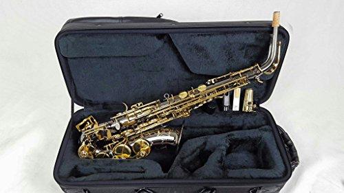 Selmer La Voix ll Alto Saxophone Outfit-Black