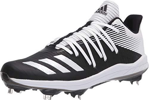 adidas Boys' Afterburner 6 Sneaker, Black, 7.5 M US