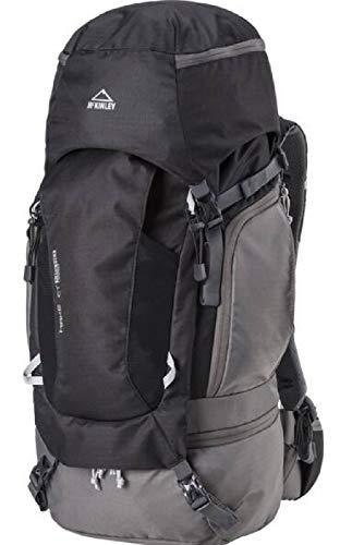 McKINLEY wandel-outdoor-rugzak Make CT 45 +10 Vario grijs zwart